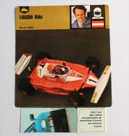 NIKI LAUDA F1 Ferrari Grand Prix Brésil 1978 Formule 1 - Automobile - F1
