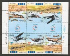 Israel - 1998, Michel/Philex No. : 1471-1473, SHEET, BOGEN - MNH - *** - - Blocs-feuillets