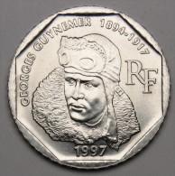 2F Guynemer 1997 - Nickel - V° République : En Francs (1958 - 2002) - I. 2 Francs