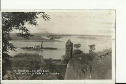 BGD640    --  BEOGRAD  --   CONFLUENT DE LA SAVE ET DU DANUBE  --  SHIP, DAMPFER  --  1939 - Serbie
