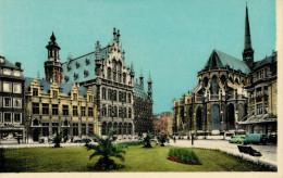 LUEVEN   ST. PIETERS HOOFDKERK  STADHULS EN  NATIONALE  BANK       (NUOVA) - Leuven