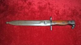 Baïonnette  Mauser Suédois - Armes Blanches