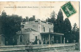 65 - Castelnau Rivi�re Basse  : La Gare - C�t� Quai