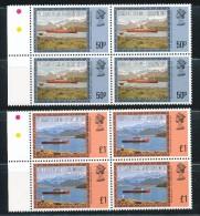 Falklandinseln, S.-Georgien U. D. S.-S.-Inseln - Mi.Nr.  78  -  89  -   Postfrisch   Freimarken: Landschaften  3er Fehlt - Falklandinseln