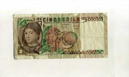 - ITALIE . BILLET 5000 L. 1979 . - [ 2] 1946-… : Repubblica