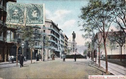 BARCELONA - Monumente Clavè, 1909 - Barcelona