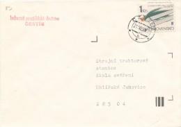 J4487 - Czechoslovakia (1983) Cestin; Stamp: VII. World Cup Ski Flying In Harrachov 1983