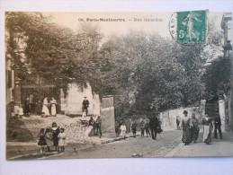 68 Paris Montmartre Rue Girardon LP - Andere