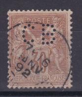 SAGE N° 80 PERFORE - 1876-1898 Sage (Tipo II)