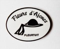 Pin's Bretagne Pleurtuit Fleur D'ajoncs Chapeau Breton - P35 - Badges