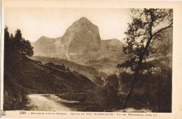 14564. Postal  EAUX BONNES (Pyrenées Atlantiques) Route Col D'Aubisque. Pic Penemedaa - Eaux Bonnes