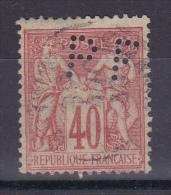 SAGE N° 94 PERFORE - 1876-1898 Sage (Tipo II)