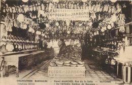64 BAYONNE AU JAMBON DE BAYONNE RAOUL MANCHES RUE DE LA SALLE  CHARCUTERIE  COMMERCE - Bayonne