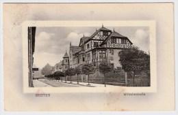 """B.-W., 1912, """" Bretten, Wilhelmstrasse """" , #3321 - Bretten"""