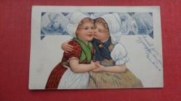 PFB Series    Dutch Children  Crease Left   Side Ref 1952 - Postcards