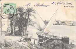 Egypte Le Caire Bord Du Nil 1905 - Egypt