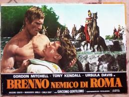 Locandine Cinema  -    Brenno Nemico Di Roma. - Altre Collezioni