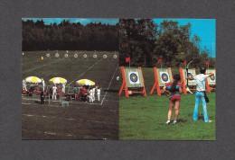 SPORTS - TIR À L´ ARC - JOLIETTE - QUÉBEC - CLUB DES ARCHERS SITE DES COMPÉTITIONS OLYMPIQUES 1976 - PHOTO C. BOULANGER - Tir à L'Arc