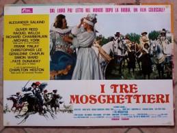 Locandine Cinema  -    I Tre Moschettieri. - Altre Collezioni