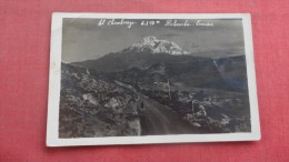 Ecuador El Chimborazo   RPPC      Ref 1953 - Equateur