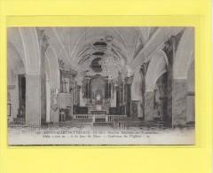 CPA 06 SAINT  MARTIN VESUBIE Intérieur De L Eglise  ( FL 197 ) TOP - Saint-Martin-Vésubie
