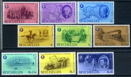 1976 -  SECHELLES - Catg. Mi  375/383 + Block 7 - NH - (X08092015...) - Seychelles (1976-...)