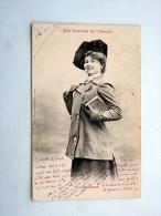 Carte Postale Ancienne : Les Femmes De L'Avenir, Etudiant, En 1902, Timbre - Bergeret