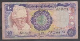 Sudan,1983,10 Pound,Prs.G.Noumery, VG. - Sudan