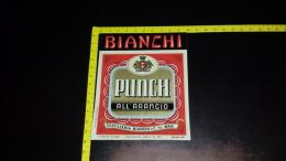 ET-66 BRA ETICHETTA BIANCHI PUNCH ALL'ARANCIO DISTILLERIE FRATELLI BIANCHI & C. - Etiquettes