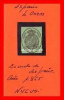 ESPAÑA - ESCUDO DE 4 ONZAS AÑO 1855 - 1868-70 Gobierno Provisional