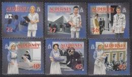 Alderney MiNr. 167/72 A ** Soziale Dienste Auf Alderney: Gesundheitswesen - Alderney