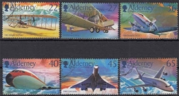 Alderney MiNr. 206/11 O 100 Jahre Motorflug - Alderney