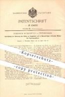Original Patent - Friedrich Wöhrmeyer In Zweibrücken , 1898 , Walzen Für Papiermaschinen , Papier , Papierfabrik !!! - Documents Historiques