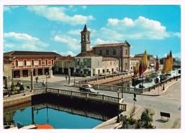 L3012 Cesenatico (Forlì Cesena) - Piazza Pisacane E Museo Della Marineria - Auto Cars Voitures / Viaggiata 1986 - Italy