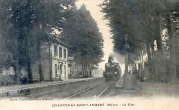 Chantenay Saint Imbert - La Gare Avec Train - Unclassified
