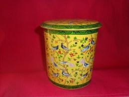 R Oiseau A Determiner- Hauteur 13cm Diametre Du Couvercle 13cm Diametre Du Cul 11.5cm - Other Collections