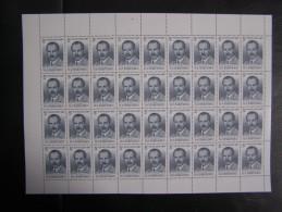RUSSIA 1987 MNH (**)YVERT5459.N. I. Vavilov ,.in The Entire Sheet. Neu - Full Sheets