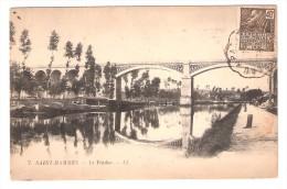 ST SAINT MAMMES , Seine Et Marne : Le Viaduc ; + Cachet Convoyeur MONTEREAU - PARIS, Sur  Exposition Coloniale 1931 , TB - Saint Mammes