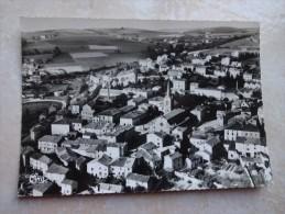 CPSM 42 BUSSIERES  Vue Aérienne - Le Bourg - Otros Municipios