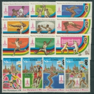 Guinea 1980 Olympiade Moskau 896/08 A Postfrisch (R20187) - Guinea (1958-...)
