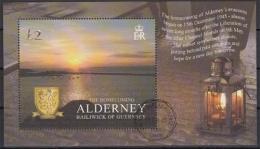Alderney MiNr. Bl. 17 O 60. Jahrestag Der Rückkehr Der Inselbewohner - Alderney