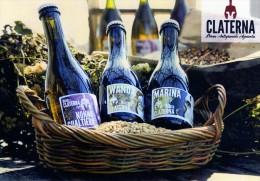 Cartolina Pubblicitaria Birra Artigianale Claterna (fronte E Retro) - Altre Collezioni