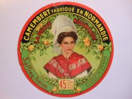 A-14283d - étiquette De Fromage Camembert Saffrey Frères à SAINT LOUP DE FRIBOIS - Calvados 14BF - Fromage