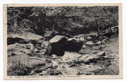 CERNAY LA VILLE--1938--Vallée De Chevreuse--Cascade  N°37 éd Lamorelle---pas Très Courante - Cernay-la-Ville