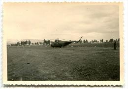 Guerre D'Algérie 4 Photographies Privées Hélicoptères - Guerre, Militaire