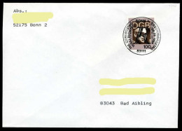 35562) BRD - FDC - Mi 1753 - 100Pfg        Willi Richter - FDC: Briefe
