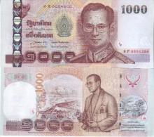 THAILAND  1'000 Baht  P115 New Signature  (85)     2015        UNC - Thailand