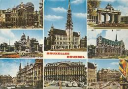 -103-MULTIVUES DE BRUXELLES-BRUSSEL ...EDT THILL S.A De BRUXELLES ..CARTE NON ECRITE.. - Multi-vues, Vues Panoramiques