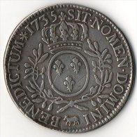 Louis XV...Ecu Au Branches D´Olivier De Pau Ou Béarn..1725.. Voir Scan - 987-1789 Royal