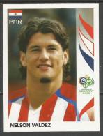 "NR: 130 ""PAR - NELSON VALDEZ"" Panini - 2006 FIFA World Cup Germany - Panini"